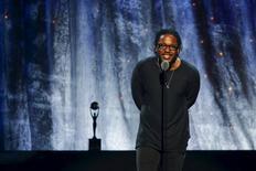 Lamar se apresenta em cerimônia em Nova York.  8/4/2016. REUTERS/Eduardo Munoz