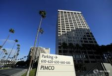 The offices of Pacific Investment Management Co (PIMCO) (R) are shown in Newport Beach, California August 4, 2015. REUTERS/Mike Blake