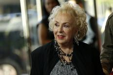 Actress Doris Roberts arrives at the Hollywood Film Awards in Beverly Hills, California November 1, 2015.  REUTERS/Mario Anzuoni
