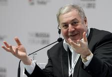 Mikhail Gutseriyev, president of oil and gas company RussNeft, attends The Russia Forum 2012 in Moscow, Russia, February 2, 2012. REUTERS/Anton Golubev/File Photo