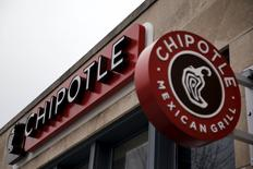 Chipotle Mexican Grill is seen in uptown Washington, February 8, 2016. REUTERS/Carlos Barria