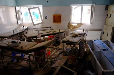 Inside the bombed MSF Afghan hospital
