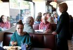 Unsuspecting campaign diners