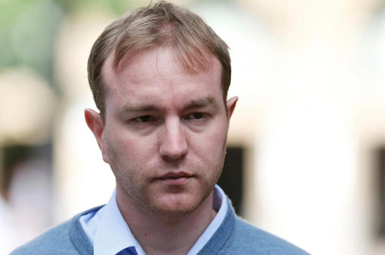 Former trader Tom Hayes arrives at Southwark Crown Court in London, Britain July 29, 2015. REUTERS/Suzanne Plunkett/File Photo