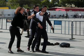 Attempted shooting of Turkish journalist