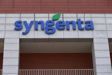Syngenta's logo is seen at Syngenta Biotech Center in Beijing, China, February 19, 2016. REUTERS/Kim Kyung-Hoon
