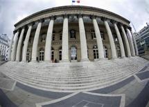 Les principales Bourses européennes évoluent en hausse de plus de 1% mardi dans les premiers échanges. À Paris, le CAC 40 avance de 1,16% à 4.362,22 points vers 09h40. /Photo prise le 26 avril 2016/REUTERS/Charles Platiau