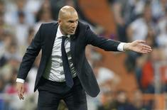 Real Madrid coach Zinedine Zidane Action Images via Reuters / Carl Recine Livepic