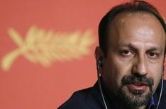 "Director Asghar Farhadi attends a news conference for the film ""Forushande"" (The Salesman) in competition at the 69th Cannes Film Festival in Cannes, France, May 21, 2016. REUTERS/Regis Duvignau"