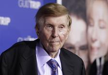 FILE PHOTO: Sumner Redstone, executive chairman of CBS Corp. and Viacom, arrives at the premiere of 'The Guilt Trip' in Los Angeles in this file photo dated December 11, 2012.  REUTERS/Fred Prouser/File Photo