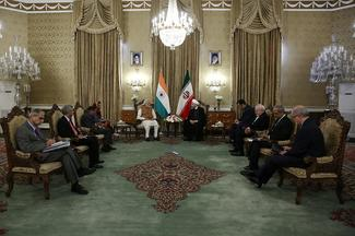 PM Modi in Iran