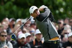 Golf - Dubai Duty Free Irish Open - The K Club, County Kildare, Ireland - 22/5/16 Northern Ireland's Rory McIlroy plays his tee shot at the 5th hole Action Images via Reuters / Paul Childs Livepic