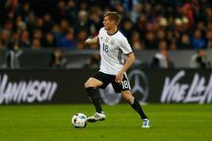 Meia alemão Toni Kroos durante amistoso contra Itália.     29/03/2016        REUTERS/Michael Dalder