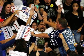 Protesting Trump