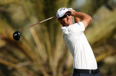 Golf - Abu Dhabi HSBC Golf Championship - Abu Dhabi Golf Club, United Arab Emirates - 21/1/16. Belgium's Nicolas Colsaerts in action during the first round Action Images via Reuters / Paul Childs