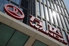 Dalian Wanda Group's Wanda Plaza building is pictured  in Beijing, China, May 17, 2016. REUTERS/Kim Kyung-Hoon/File Photo