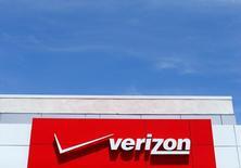 Una tienda de Verizon en San Diego, EEUU, abr 21, 2016. Verizon Communications Inc no entregó la oferta más alta esta semana en la segunda ronda de pujas por los activos centrales de internet de Yahoo Inc, según una persona familiarizada con la situación.   REUTERS/Mike Blake/File Photo