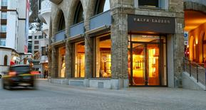 A store of U.S. designer Ralph Lauren is seen in the mountain resort of St. Moritz, Switzerland March 15, 2016.  REUTERS/Arnd Wiegmann