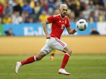 Wales' Aaron Ramsey in action Action Images via Reuters / Andrew Boyers/ Livepic
