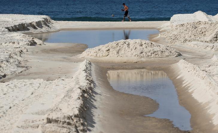 Estudos encontram 'superbactérias' em praias e lagoa da Rio 2016