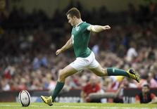 Ireland's Paddy Jackson converts a try Action Images via Reuters / Rebecca Naden