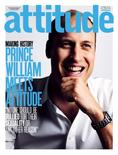 Britain's Prince William smiles on the front cover of Attitude Magazine July issue in this image handed out by the publication June 15, 2016. Prince William will appear on the July cover of Attitude speaking out against homophobia, the first time a British royal has been photographed for the front of a gay publication, the magazine said on Wednesday. Leigh Kelly/Attitude Magazine/Handout via  REUTERS