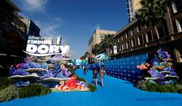 "A general view at the premiere of ""Finding Dory"" at El Capitan theater. REUTERS/Mario Anzuoni"
