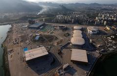 Vista aérea do Parque Olímpico no Rio de Janeiro. 25/4/2016.  REUTERS/Ricardo Moraes