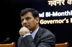 Reserve Bank of India (RBI) Governor Raghuram Rajan attends a news conference after their bimonthly monetary policy review in Mumbai, India, June 7, 2016. REUTERS/Danish Siddiqui/File Photo
