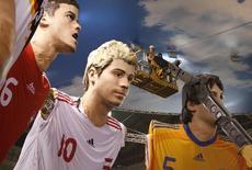 Adidas a renouvelé jusqu'en 2022 son partenariat avec la Fédération allemande de football (DFB), sans en dévoiler les modalités financières. /Photo d'archives/REUTERS/Arnd Wiegmann