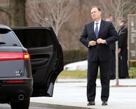 U.S. Supreme Court Justice Samuel Alito arrives for the funeral of Associate Justice Antonin Scalia at the Basilica of the National Shrine of the Immaculate Conception in Washington, DC, U.S. on February 20, 2016. REUTERS/Carlos Barria/File Photo