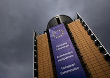 Штаб-квартира Еврокомиссии в Брюсселе. Россия заинтересована в процветающей и предсказуемой Европе, заявил Кремль, комментируя итоги голосования о выходе Британии из ЕС.REUTERS/Yves Herman