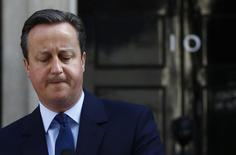 Premiê britânico, David Cameron, após resultado de referendo sobre saída da União Europeia.   24/06/2016       REUTERS/Stefan Wermuth