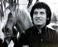 Chilean singer Victor Jara, who was tortured and died during the military dictatorship of [General Augusto Pinochet], is seen in this undated file picture.