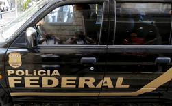 Carro da Polícia Federal no Rio de Janeiro. 28/07/2015 REUTERS/Sergio Moraes