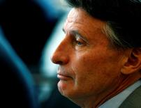 International Association of Athletics Federations (IAAF) President Sebastian Coe attends the Olympic Summit in Lausanne, Switzerland June 21, 2016. REUTERS/Denis Balibouse