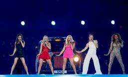 Spice Girls durante show no encerramento dos Jogos de Londres, em 2012  12/8/2012 REUTERS/Stefan Wermuth
