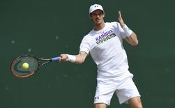 Britain Tennis - Wimbledon - All England Lawn Tennis & Croquet Club, Wimbledon, England - 9/7/16 Great Britain's Andy Murray during a practice session REUTERS/Toby Melville