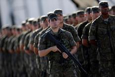 Militares participam de evento no Rio.  15/7/2016. REUTERS/Ueslei Marcelino