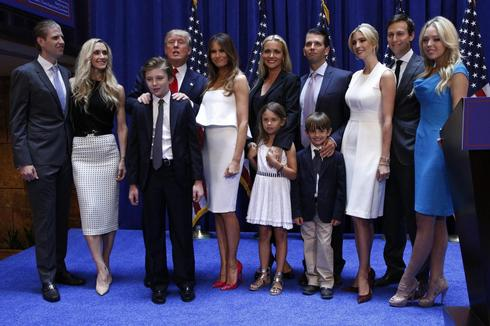 The Trump family album