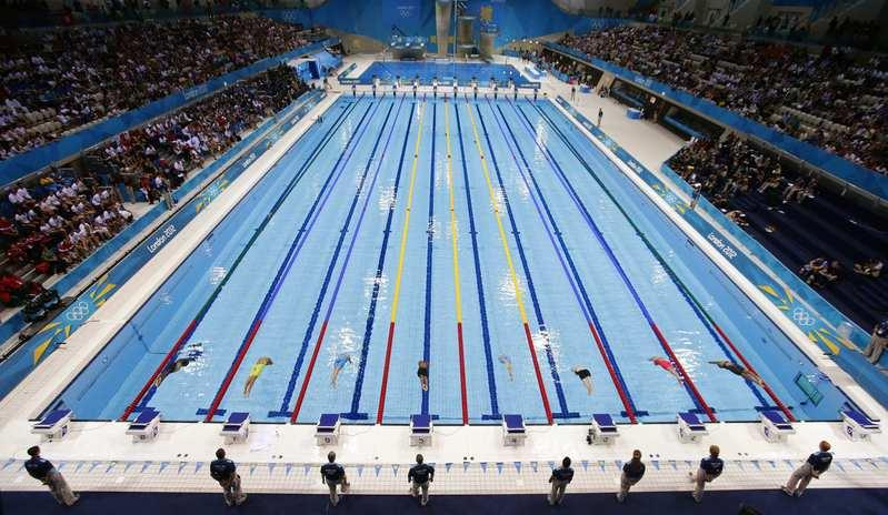 fast swimmers make fast pools but science lends a hand