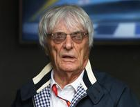 Chefe comercial da Fórmula 1, Bernie Ecclestone.    10/07/2016      REUTERS/Matthew Childs Livepic
