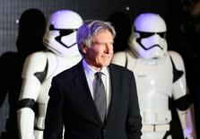 Harrison Ford durante evento em Londres.     16/12/2015     REUTERS/Paul Hackett/Files