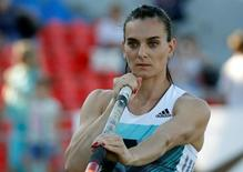 Yelena Isinbayeva, que ficou fora da Olimpíada  21/6/16 REUTERS/Sergei Karpukhin