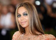 Beyoncé durante o Met Gala em Nova York. 2/5/2016. REUTERS/Eduardo Munoz