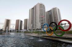 Vista geral de acomodação de atletas na Vila Olímpica do Rio  23/7/2016 REUTERS/Ricardo Moraes