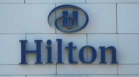 Отель Hilton в Батуми. Hilton Worldwide Holdings Inc, владелец сетевых отелей Waldorf Astoria и Conrad, понизил годовой прогноз выручки номерного фонда на каждый имеющийся номер, или RevPAR, уже во второй раз в этом году на фоне замедления в сфере делового туризма. REUTERS/David Mdzinarishvili