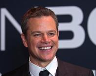 "Matt Damon em lançamento de ""Jason Bourne"" em Las Vegas.  18/7/2016.  REUTERS/. .Baskow"