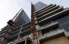 A condominium building is seen under construction in Toronto, Ontario, Canada on February 19, 2014. REUTERS/Aaron Harris/File Photo