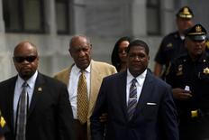Actor and comedian Bill Cosby departs after a Habeas Corpus hearing on sexual assault charges at the Montgomery County Courthouse in Norristown, Pennsylvania July 7, 2016.  REUTERS/Mark Makela